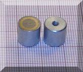 D10x10 mm-es AlNiCo POT mágnes M3-as menettel (450°C)