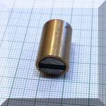 D13x20 H-tipusú POT mágnes Bronzházban NdFeB betéttel M4 menet