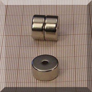 D14/d3x7 N35H NdFeB gyűrűmágnes