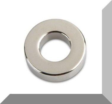 D20/d10x6 mm. N44 NdFeB Gyűrűmágnes