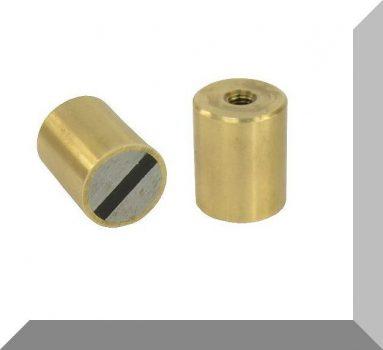 D20x25 H-tipusú POT mágnes Bronzházban NdFeB betéttel M6 menet