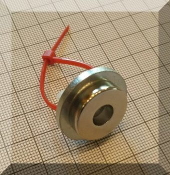 Kompozit mágnes SZETT. D27/d20/d8x8