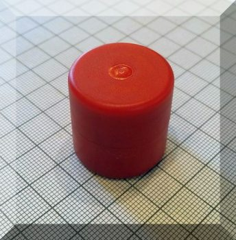 D28x28 MM-N50 Extra erős NdFeB mágnes műanyag házban-TYP-8