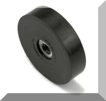 D32/D36x8,5 mm. gumirozott POT mágnes M6-os belső menettel