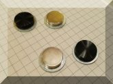 D32x9 NdFeB kompozit mágnes SZETT rendszám rögzítéshez