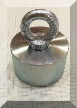 D60x35/72Függesztőszemes, NdFeB betétes POT mágnes