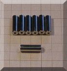 D6,4/d2x20 N38 NdFeB furatos henger mágnes/dia