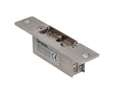 Rövid pajzsos elektromos zár, feszültségre nyitó (NO) - fail-secure