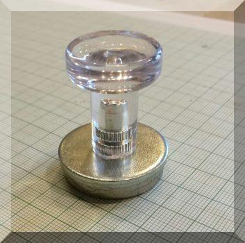 D32/d30x8/37 Fogantyús mágnes -TYP-12-LASER