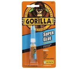 Gorilla SUPER Glue 3g. pillanatragasztó