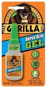 Gorilla SUPER Glue 15g. GEL pillanatragasztó