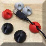6db-os kábelrendező gumi tappancs