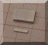 10x2x1mm. NdFeB téglatest mágnes