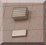 10x5x1,2 mm. N50 NdFeB Téglatest mágnes