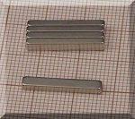 20x3x2 N38SH téglatest mágnes