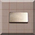 25x15x2 mm. N38 NdFeB téglatest mágnes