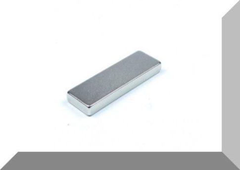 25x8x3 mm. N40 NdFeB téglatest mágnes