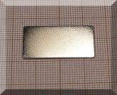 30x15x1 mm. N38 NdFeB téglatest mágnes