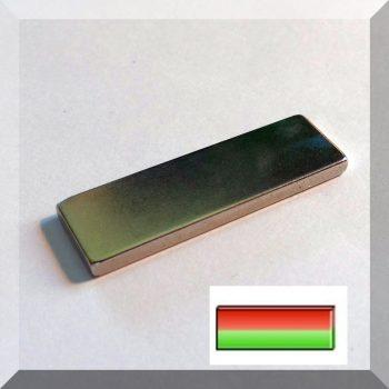 40x3x12 mm. N42 NdFeB téglatest mágnes