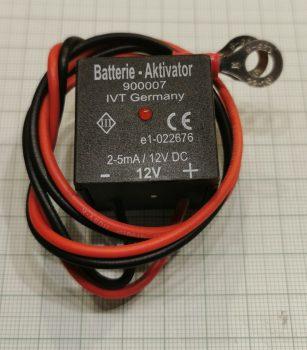 Akku-aktivátor 12V.