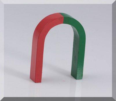 AlNiCo Patkó mágnes közepes 60x80x15 mm.