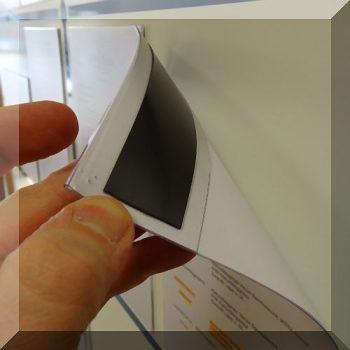 A4-es mágneses dokumentum tartó minőségi Antireflex 0,5 anyagból (fekvő)