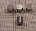D10x10 mm. AlNiCo mágnes 300°C