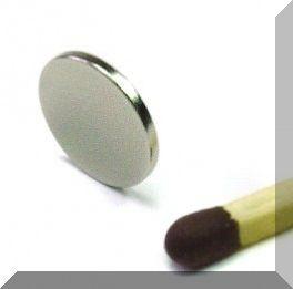 D10x1 mm. N35 NdFeB korong mágnes