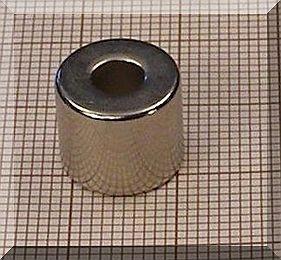 D12/d5x10 N35 NdFeB gyűrűmágnes