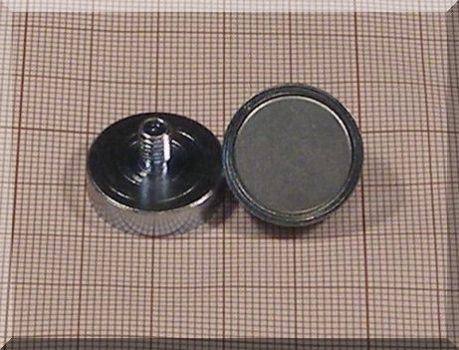 D20x5/12mm. Menetszáras POT mágnes M5