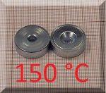 D20x7mm. POT mágnes Neodym betéttel (süllyesztett furatos) 150°C !!!