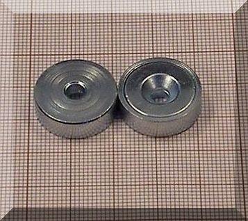 D20x7mm. POT mágnes Neodym betéttel (süllyesztett furatos)