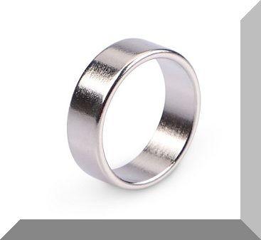 D22/d19x7 mm. N45 NdFeB gyűrűmágnes