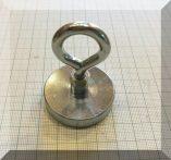 D40x8/15/52 Szemes POT NdFeB betétes mágnes (65 kg.)
