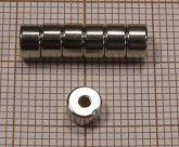 D5/d1,5x3 N35 NdFeB gyűrűmágnes