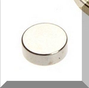 D8x3 mm. N38SH NdFeB Korong mágnes
