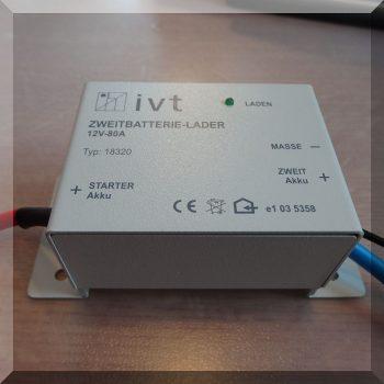 Dual-80 Másodlagos akumulátor töltő (aut. leválasztó kapcsoló)