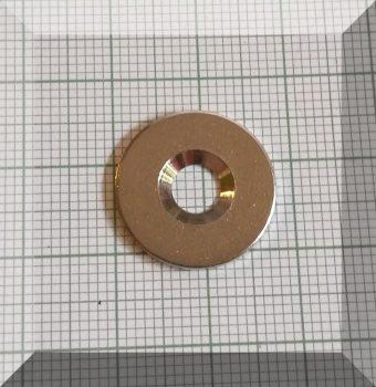 Fém ellendarab Neodym mágneshez D18x1,5 Nikk. Sülly.