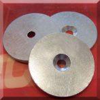 Fém ellendarab Neodym mágneshez D40x3 Horg.