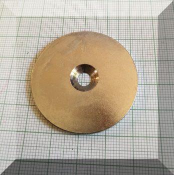 Fém ellendarab Neodym mágneshez D42x3 Horg.
