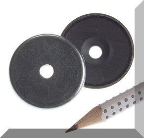 D32x7 POT mágnes ferrit betéttel
