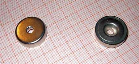 D25x7 mm. POT mágnes íves sülly. f.