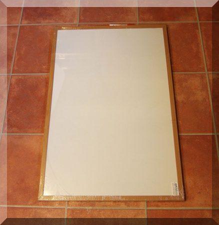 90x60 Cm. fehértábla, mágnesezhető