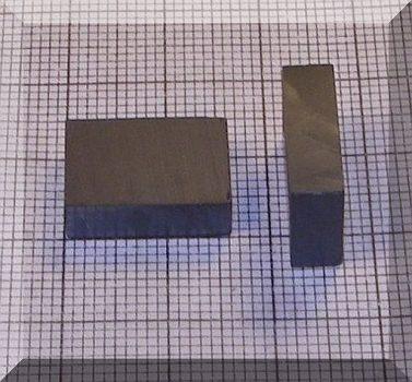 16x11x5 mm. Ferrit téglatest mégnes