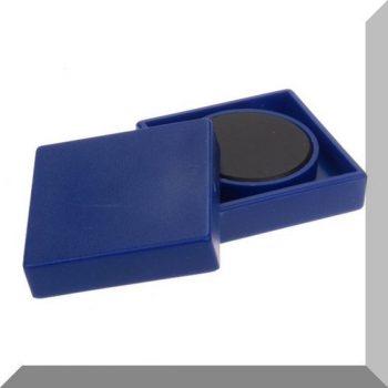 35x35x9mm. Nagy négyzetes irodamágnes ferrit mágnes betéttel - Sötét kék