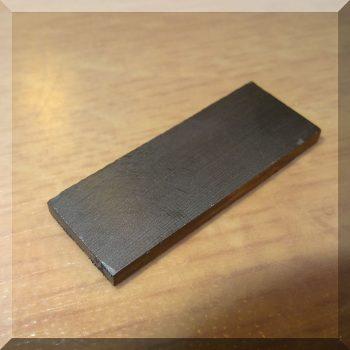 40x15x3 mm. Ferrit téglatest mégnes F30