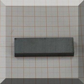 50x15x6 mm. Ferrit téglatest mégnes F30