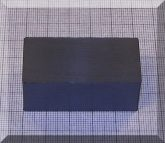 50x25x20 mm. Ferrit téglatest mégnes