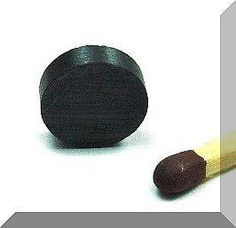 D10x3 mm. Ferrit korong mágnes