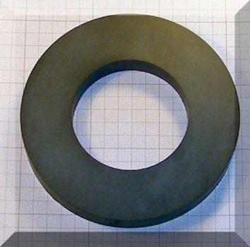 D157/d84x20 mm. Ferrit gyűrű mágnes